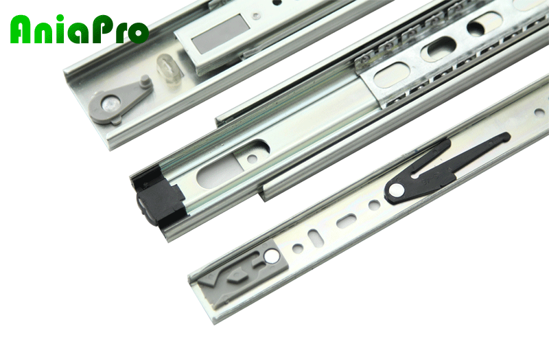 push to open drawer slide