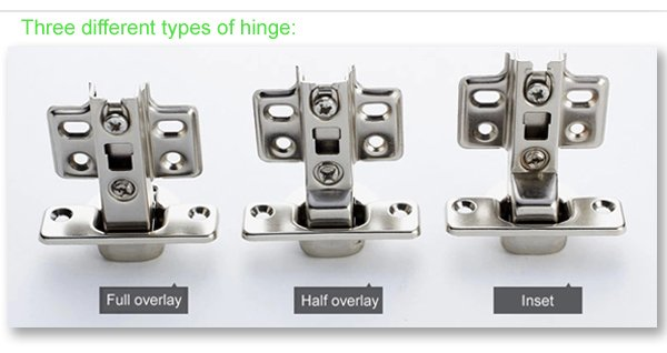 different type hydraulic Cabinet hinge